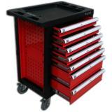 Тележка инструментальная 7-и полочная красная KT-1141117R