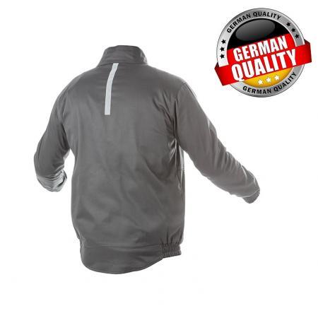 FABIAN куртка рабочая темно-серая S (48) HT5K307-S - 1