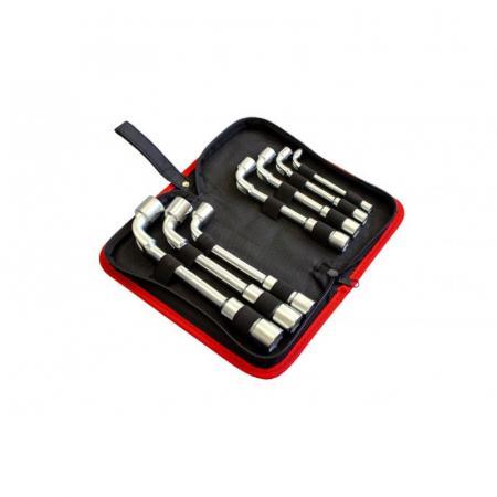Набор ключей торцевых Г-образных 7пр. (8,10,12-14,17,19мм),в сумке F-5176W - 1