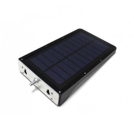 Светильник светодиодный на солнечной батарее с датчиком движения и доп. креплением(5.5V,2.5W,18650Li,3.7V,2000mAh,36SMD Led,6500К,раб. время8-10ч,заряд.4-6 RK-SWC6011-PIR+доп.крепление - 1