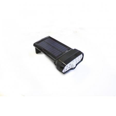 Светильник светодиодный настенный на солнечной батарее с датчиком движения (17 светодиодов SMD) WL6021 - 1