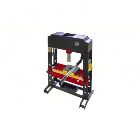 Пресс гидравлический настольный 15т PROFI(рабочая высота: 0-360мм, рабочая ширина: 440мм, рабочий стол: 160х440мм, ход штока: 100мм,надставки-8шт) F-TY20022 - 1