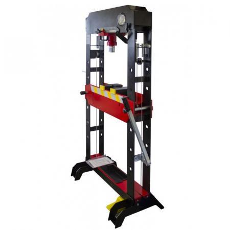 Пресс гидравлический напольный 20т PROFI(рабочая высота: 0-850мм, рабочая ширина: 600мм, рабочий стол: 180х600мм, ход штока: 120мм,надставки-8шт) F-TY20021 - 1