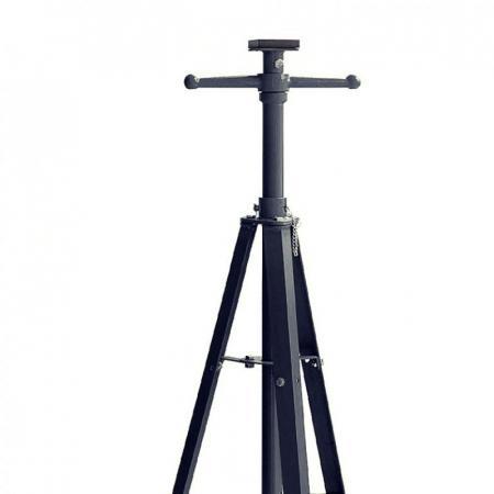 Домкрат-подставка ремонтная механическая винтовая 2т(h min-1240мм,h max-2145мм) F-TRF42009 - 1