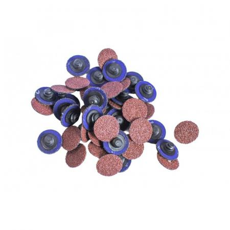 Круг абразивный шлифовальный 25мм (№40,коричневый)(к-т 50шт) F-BD140A - 1